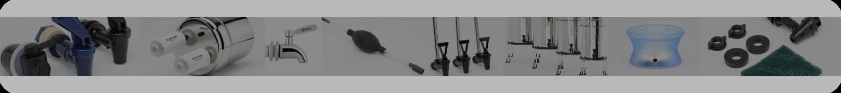 Accessoires et pièces détachées pour vos filtres Berkey®