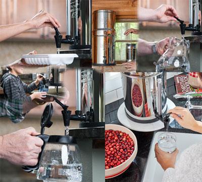 Filtre à eau de cuisine Berkey®